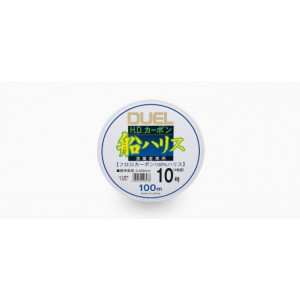 Леска Duel H.D.Carbon Fune Leader Fluorocarbon 100% 100m #12.0 19.0kg (0.57mm)