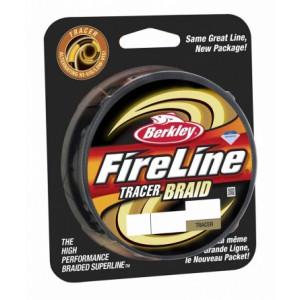 Плетеный шнур Berkley Fireline Tracer Braid 270m 0.16mm 16.3kg