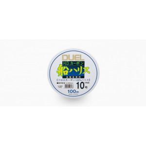 Леска Duel H.D.Carbon Fune Leader Fluorocarbon 100% 100m #8.0 13.0kg (0.47mm)