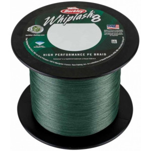 Плетеный шнур Berkley Whiplash 8 Green 2000m 0.10mm 14.8kg