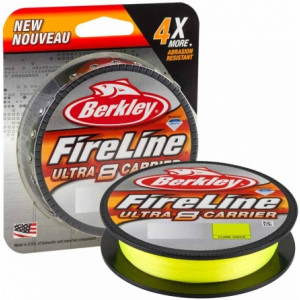 Плетеный шнур Berkley Fireline Ultra 8 Fluo Green 150m 0.25mm 17.4kg