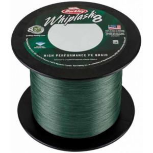 Плетеный шнур Berkley Whiplash 8 Green 2000m 0.12mm 17.5kg