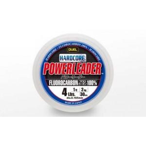 Леска Duel Hardcore Powerleader FC Fluorocarbon 100% 50m 40lbs/19kg (0.570mm)
