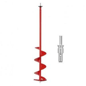 Шнек MORA ICE Easy Cordless для шуруповёрта диаметр 200мм с прямыми ножами и адаптером 18мм