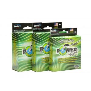 Леска плетеная Power Pro 92м зеленая 0.41 40кг