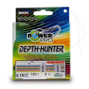 Леска плетеная Power Pro Depth Hunter 200м 0.15мм 9кг