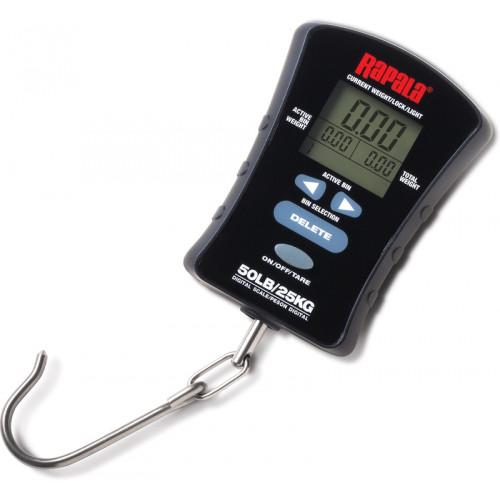 Весы электронны Rapala с подсветкой и пямятью (25 кг.)